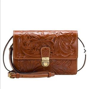 Patricia Nash Lanza crossbody leather